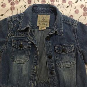 Ralph Lauren Jeans Dress for little girls size 4T